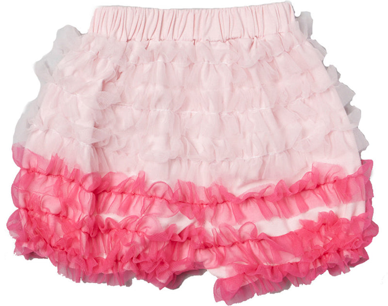 Pink/Hot Pink Ruffle Short