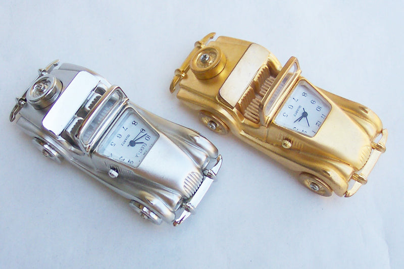 Small Car Collectible Mini Clock