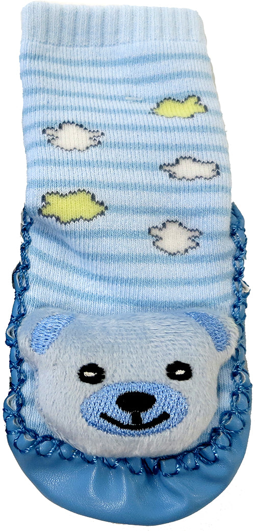 Blue Bear Sound Sock Shoes