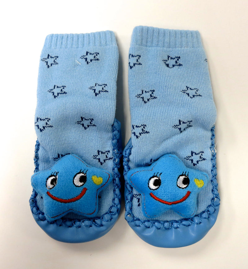 Blue Star Sound Sock Shoes
