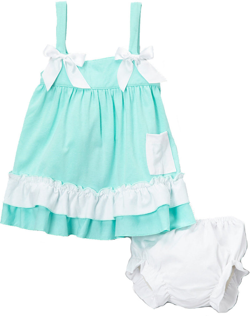Green White Swing Top Set