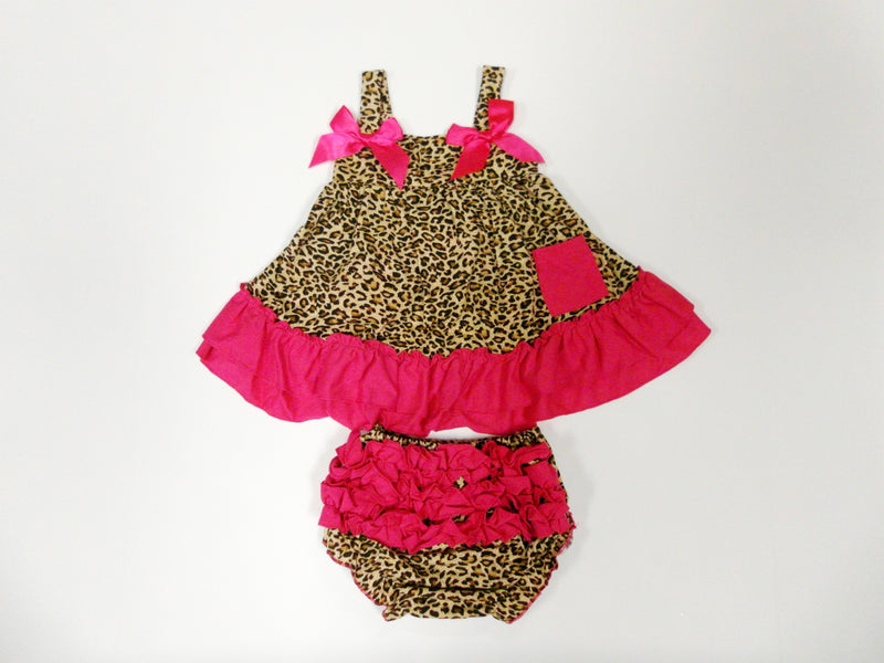 Leopard Swing Top Set