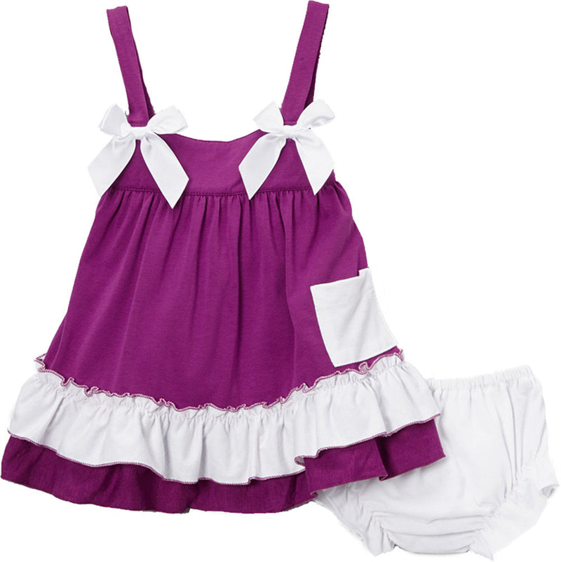 Purple White Swing Top Set