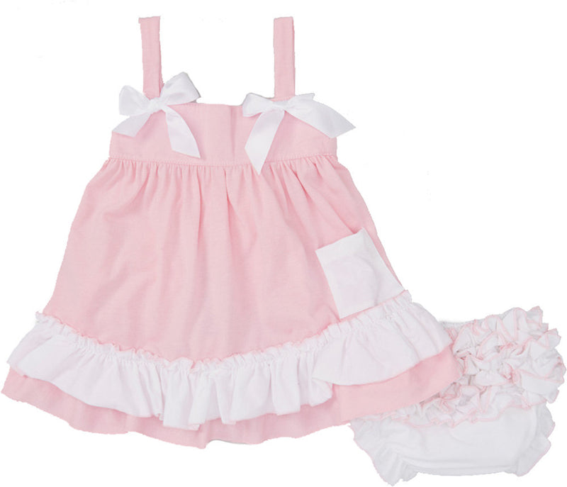 Pink & White Swing Top Set