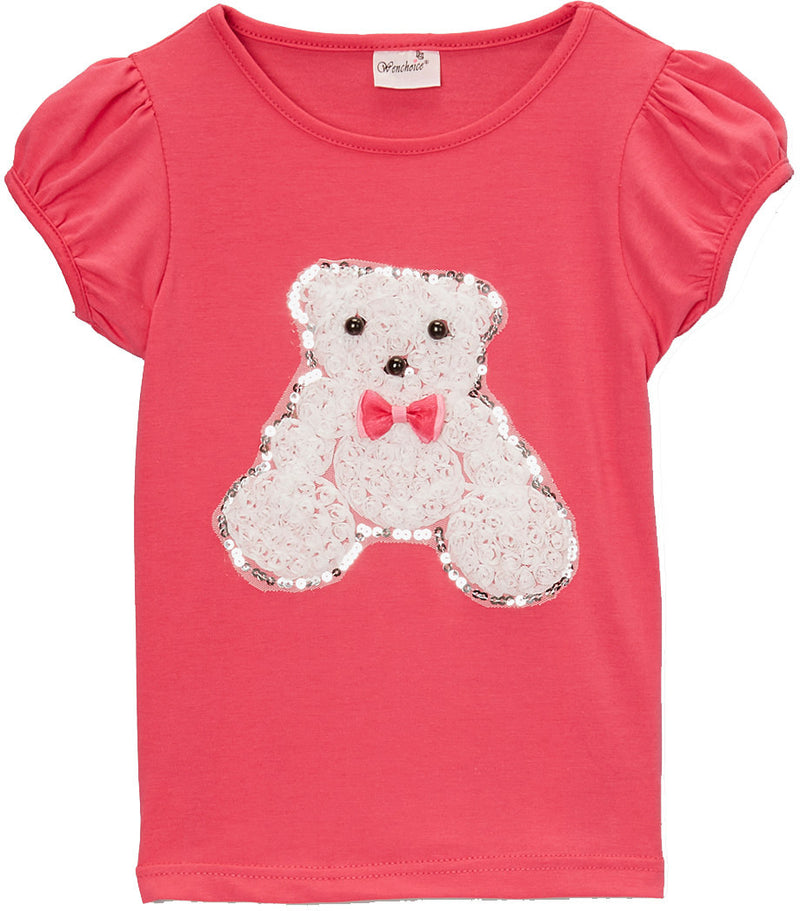 Hot Pink Teddy Bear T-Shirt