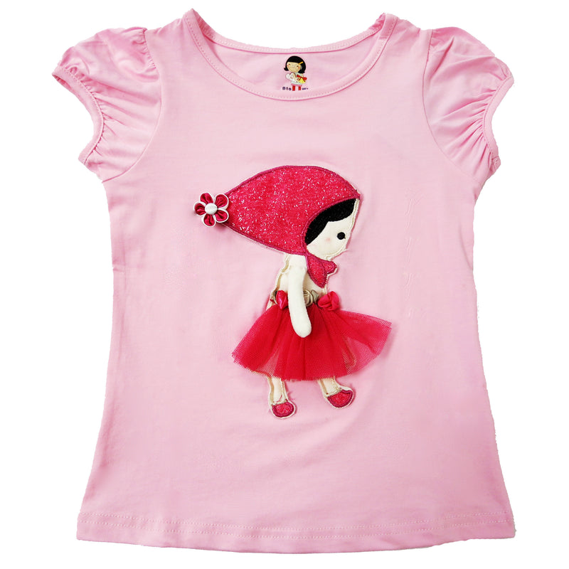Pink Girl Short Sleeve Shirt