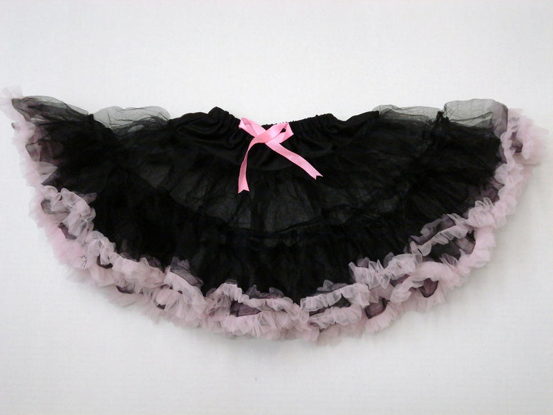 Black Tutu With Pink Trim