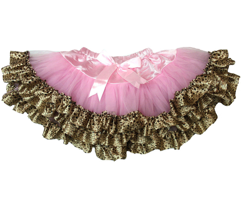 Pink Tutu With Cheetah Trim