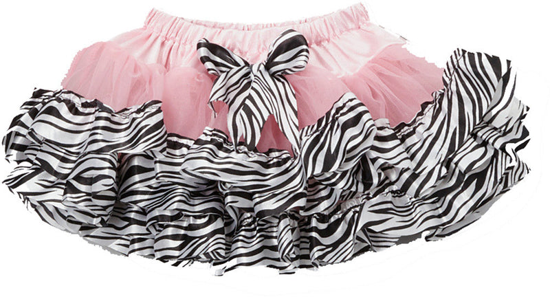 Pink Tutu With Zebra Trim