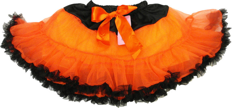 Orange Tutu With Black Trim