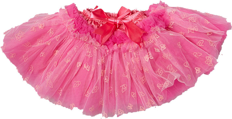10 Layer Hot 10 Layer Pink Butterfly Tutu