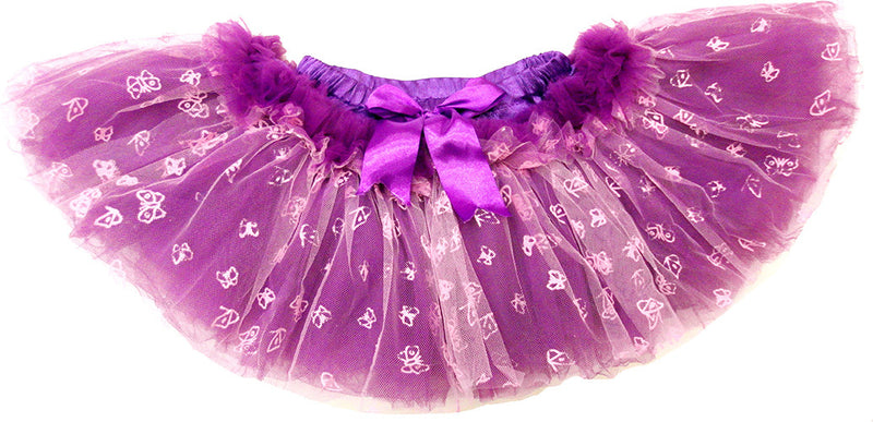 10 Layer Purple Butterfly Tutu