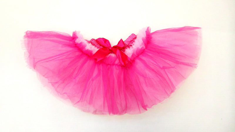 10 Layer Hot Pink/Pink 2 Tone Tutu