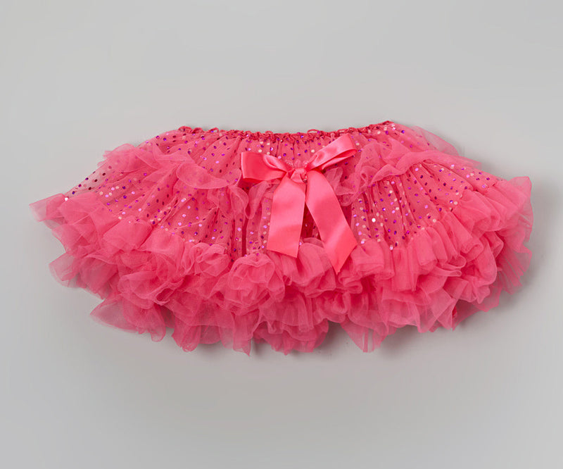 Sparkle Hot Pink Fluffy Tutu