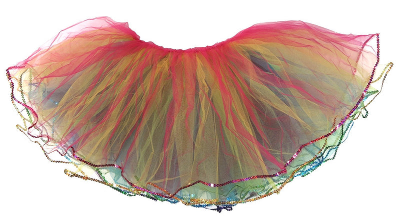 5 Layer Rainbow Reversal Adult Tutu
