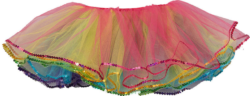 5 Layer Rainbow Reversal Tutu