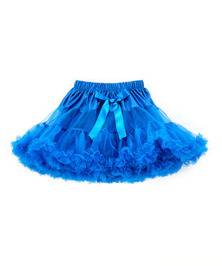 Fluffy Royal Blue Petti Skirt