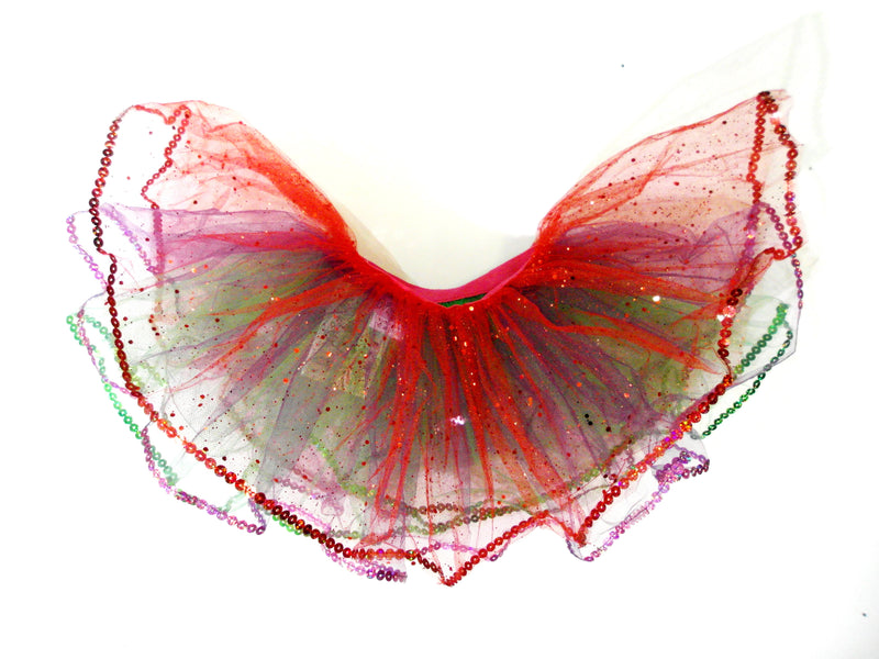 Mermaid Glitter Reversible Tutu