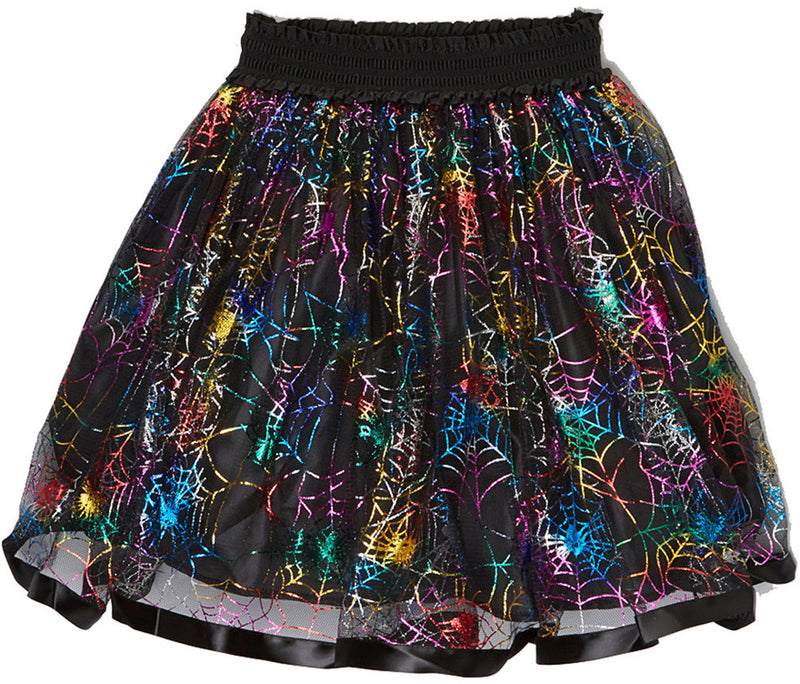 Rainbow Spiderweb Skirt