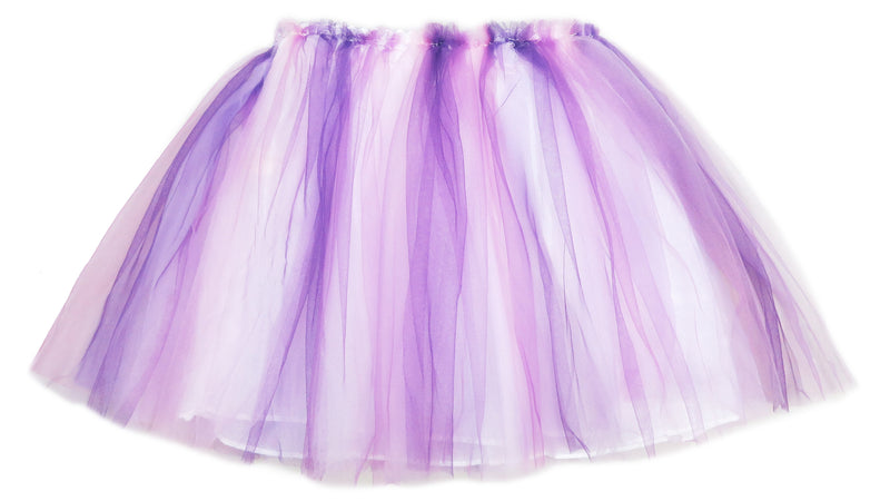 Purple Pink White Tutu Skirt
