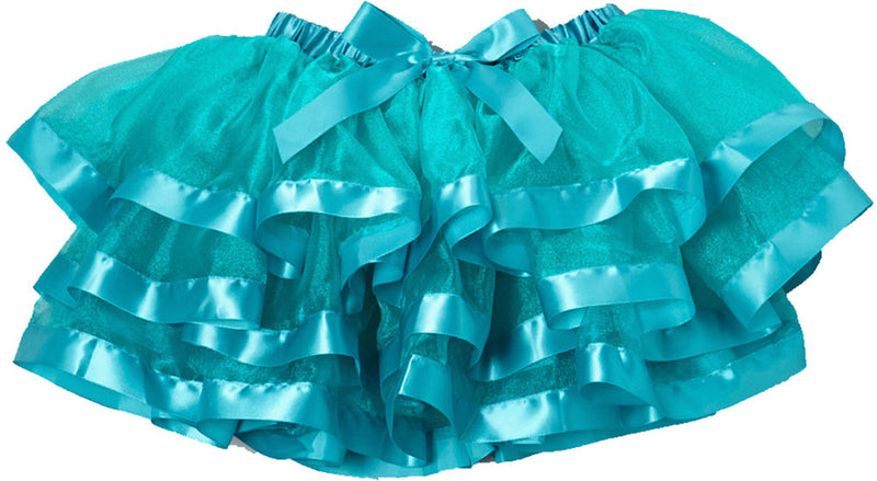 Blue Organdy Tutu