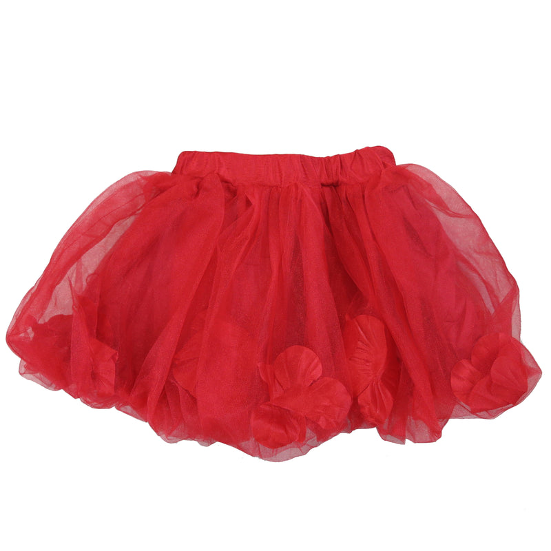 Red Petal Bubble Tutu