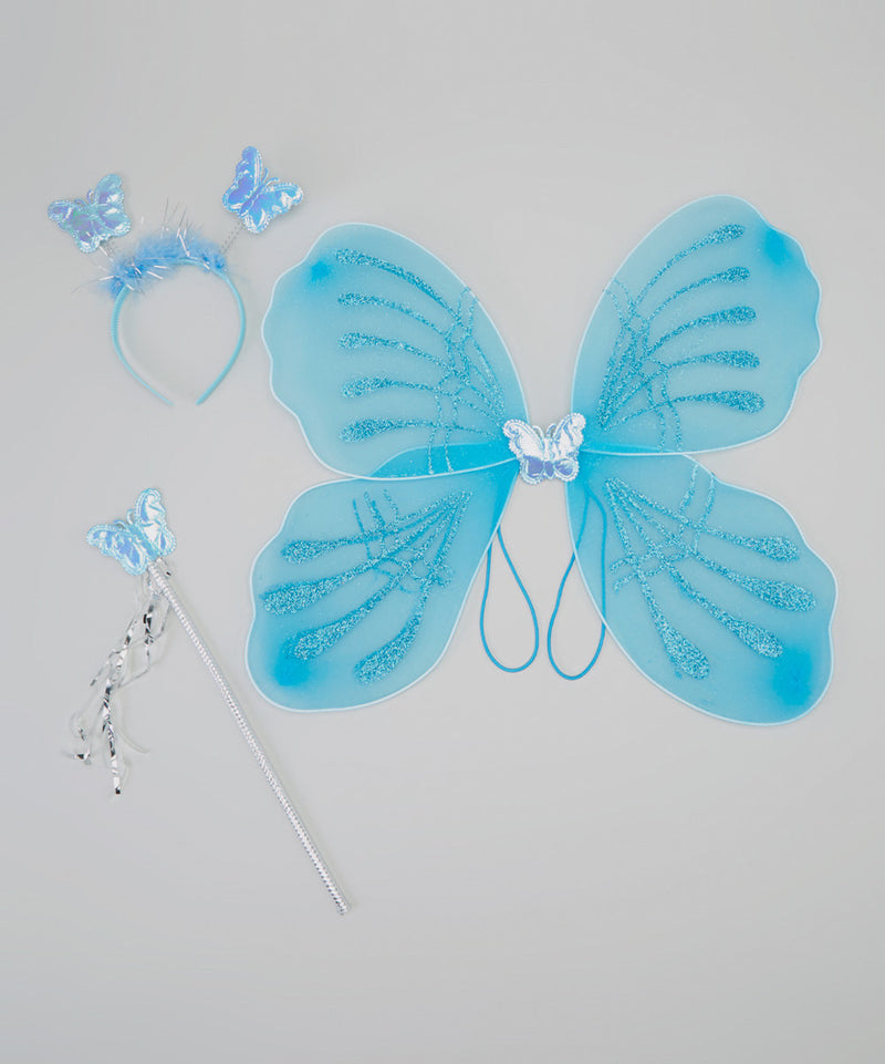 Blue Wing Set