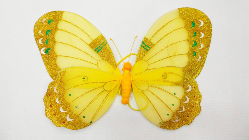 Yellow 3D Wing