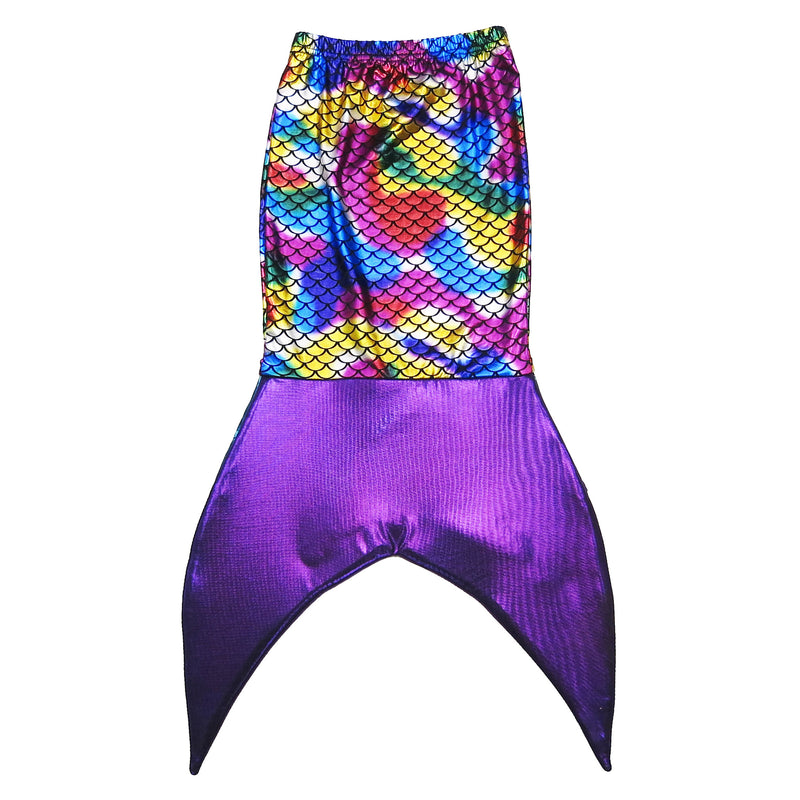 Rainbow Mermaid Tail 3-Pieces Swimming Suit
