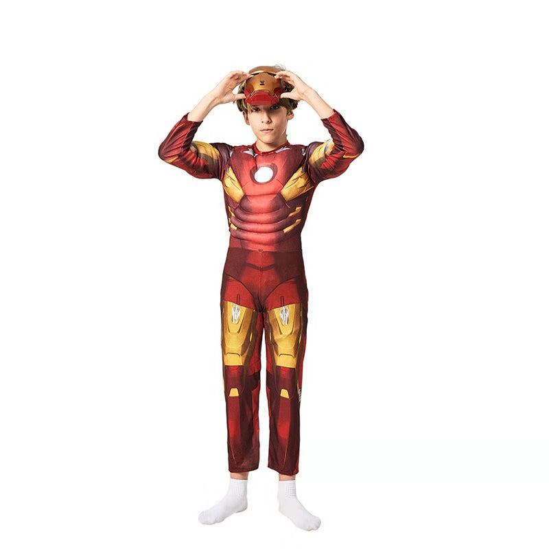 The Avengers Iron Man Muscle Costume