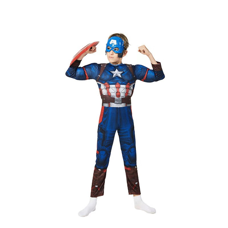 The Avengers Captain America Muscle Costume