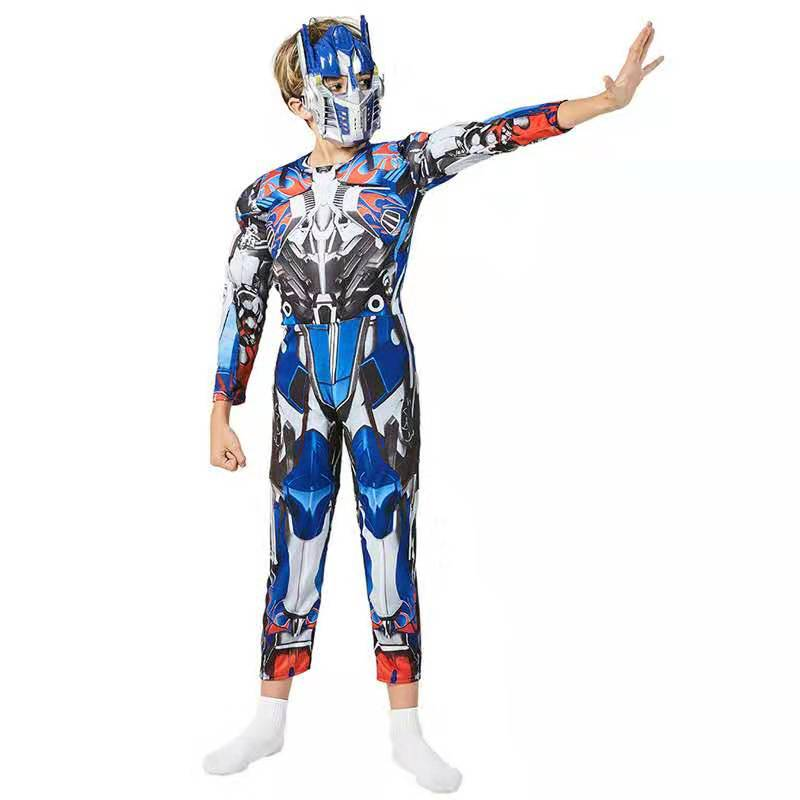 Transformat Optimus Prime Muscle Costume