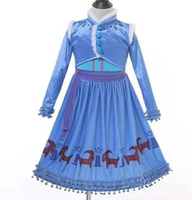 Frozen Adventure Anna Costume Dress