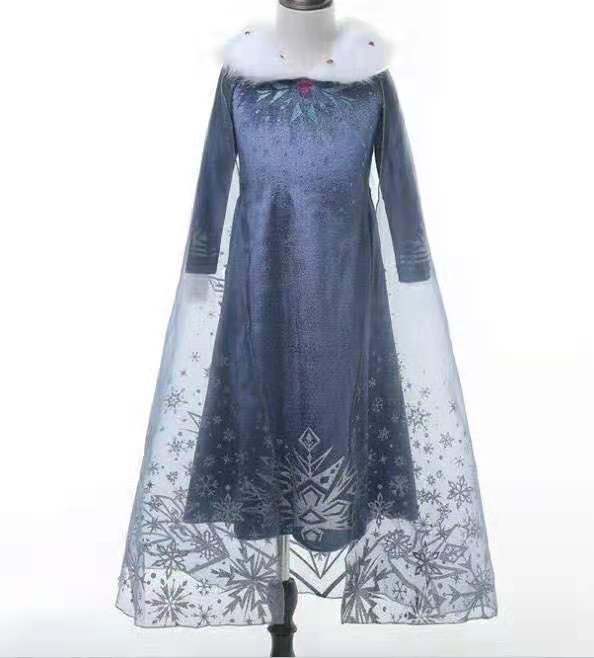 Frozen Adventure Elsa Costume Dress