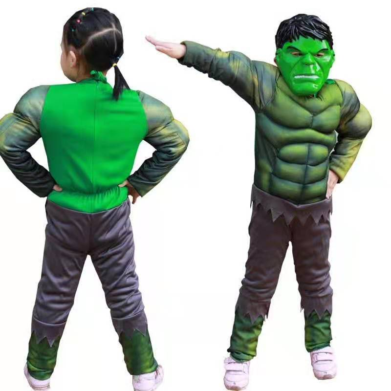 The Avengers Hulk Muscle Costume
