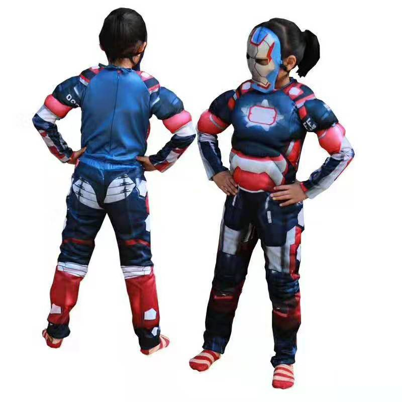 Iron Patriot Muscle Costume