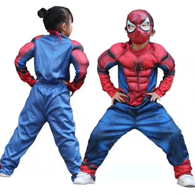 The Avengers Spider man Muscle Costume