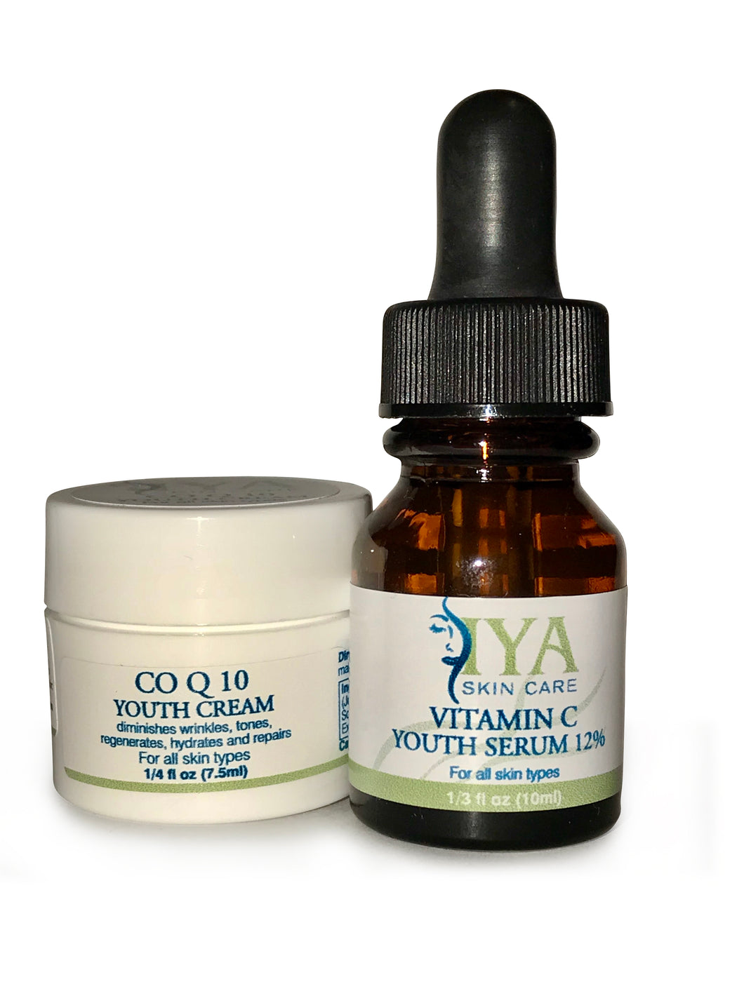 CO Q 10 & Vitamin C Antioxidant Anti-Aging Set (Value Set - Save 15%)