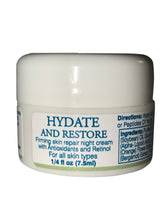 """Hydrate and Restore"" Anti-Aging Hydrating Night Cream with Retinol"