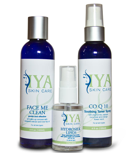 Sensitive & Dry Skin Care Set (Value Set - Save 15%)