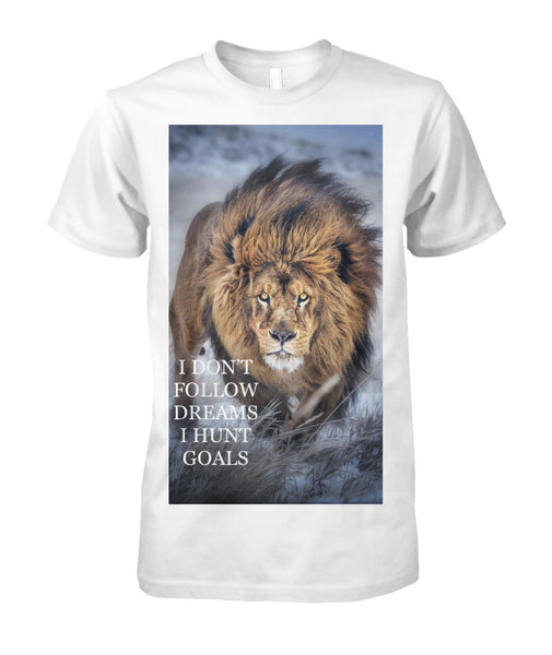 LION BRAND APPAREL  Unisex Cotton Tee