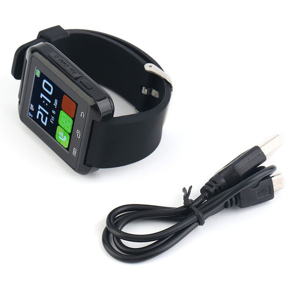 Android smart watch Black