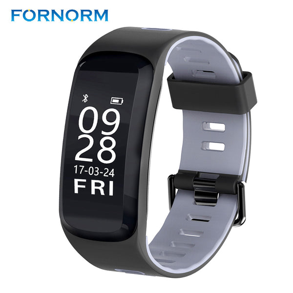 Smart Bracelet IP68 Waterproof Blood Pressure Blood Oxygen Heart Rate Monitor Sport Smart Wristband For IOS/Android