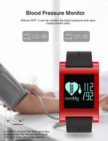 Smart Watch Men Woman Heart Rate Monitor Sports Bracelet Fitness Tracker Wristwatch DM68 Smartwatch Waterproof for Android iOS