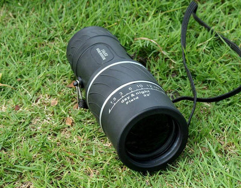 Crystal Clear 16x52 Adjustable Monocular Scope