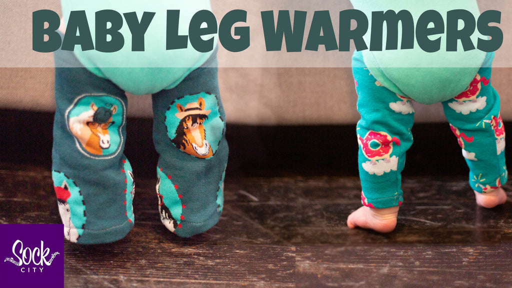 Easy DIY Baby Leg Warmers | Made From Socks