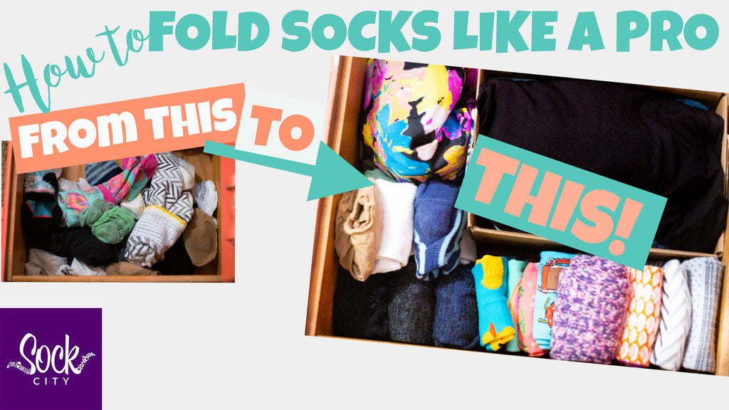 How to Fold Socks Like a Pro | Sock Drawer Organization