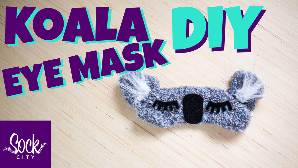 Koala Eye Mask DIY