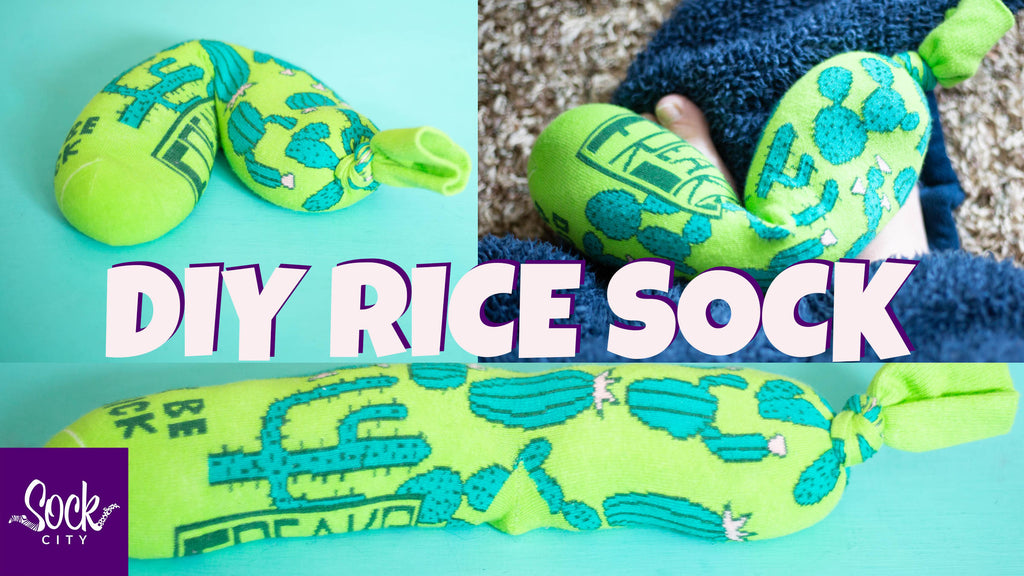 Easy DIY Rice Heating Pad in 3 Minutes | No Sew