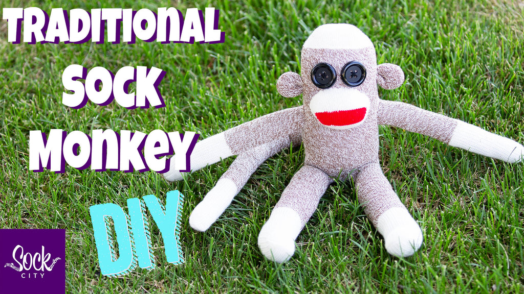How to Make a Classic Sock Monkey | Easy DIY Tutorial | Free Pattern